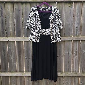 Formal Black Dress w/ Jacket